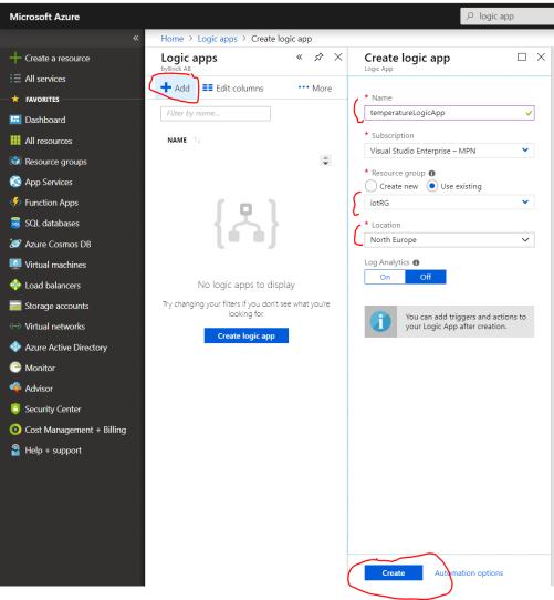 Internet Of Things Iot Part 5 Microsoft Azure Biztalk Read
